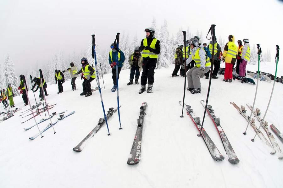 Słowacja obóz narciarski 2016
