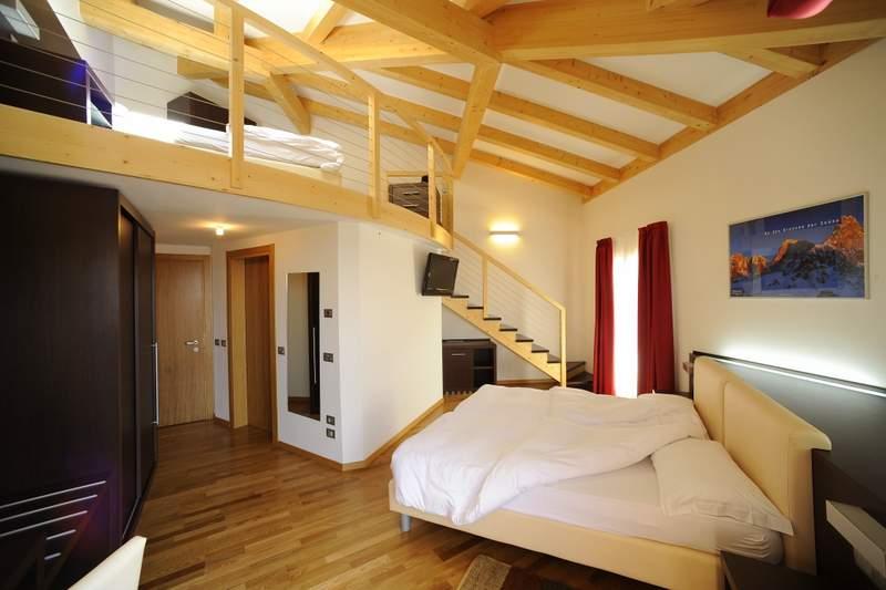 Hotel Montana Monte Bondone - pokój