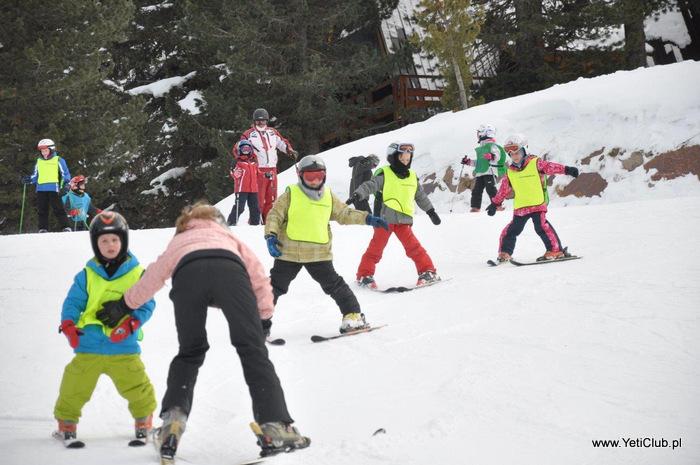 Baby Ski Czechy obóz narciarski dla dzieci, przedszkole narciarskie