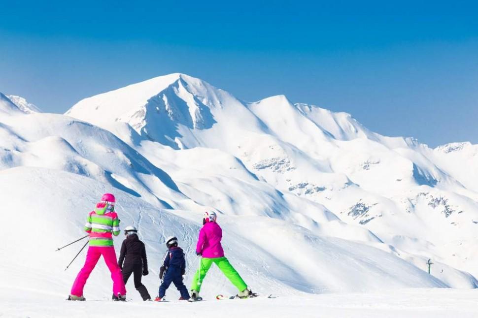 Włochy trasy narciarskie Val Gardena