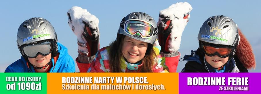 Obóz narciarski dla rodziców z dziećmi - Bukowina