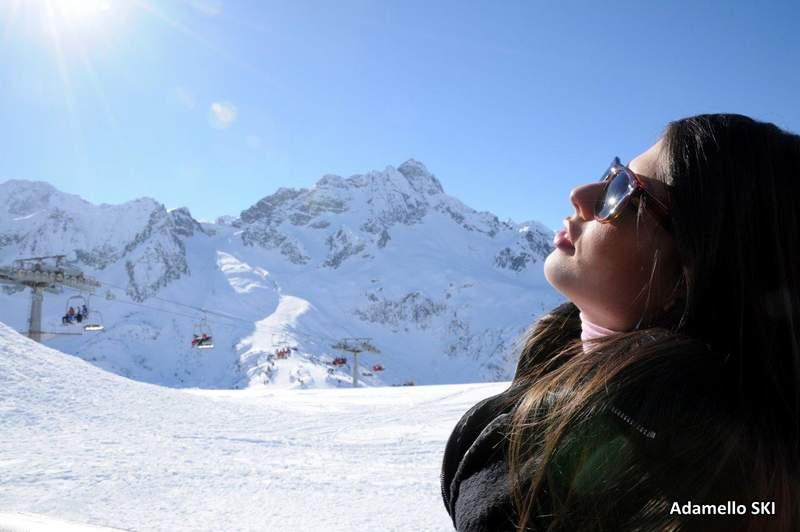 Włochy free ski Tonale