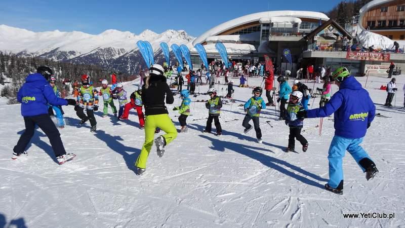 Narty z dziećmi - szkolenia i przedszkola narciarskie
