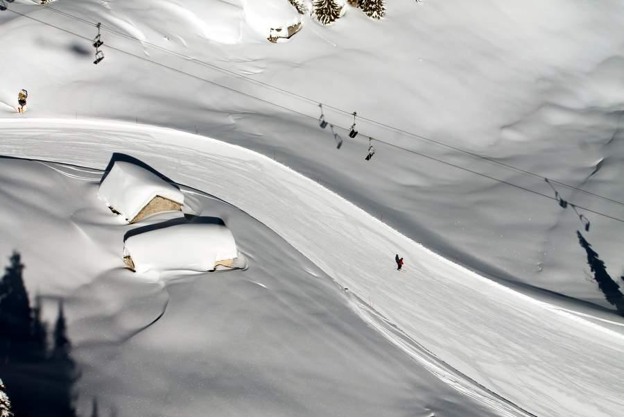Zimowisko narciarskie włochy