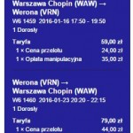 Warszawa - Werona od 138 zł