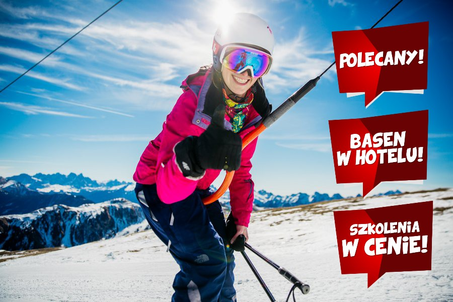 Włochy szkółka narciarska - Val di Fiemme