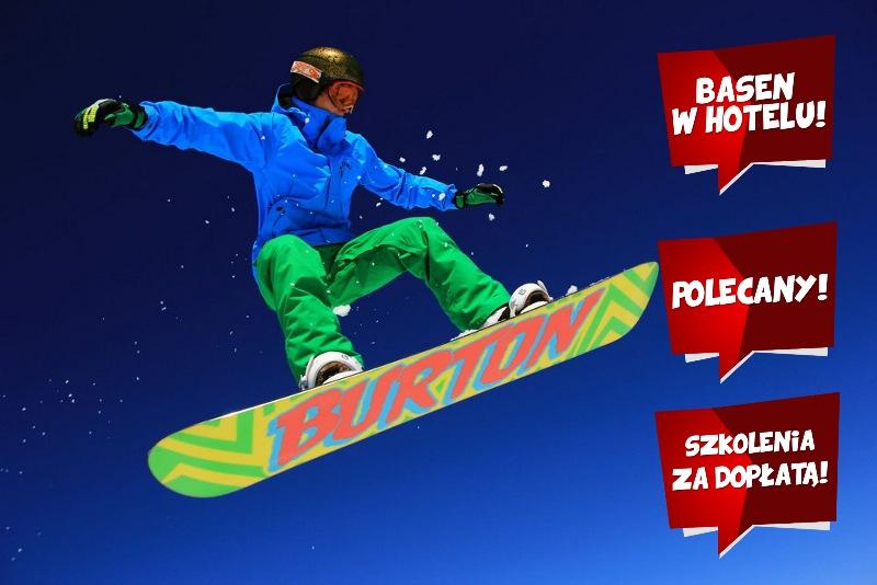 Narty w Bukowinie - szkolenia snowboardowe