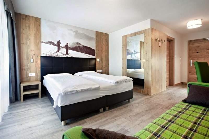 hotel Miramonti Alpe di Siussi - pokój