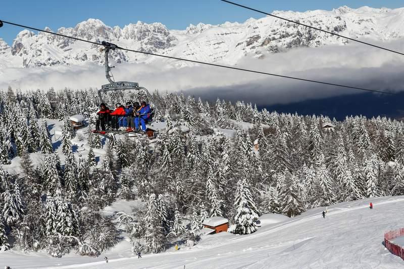 Monte bondone trasy narciarskie i wyciągi