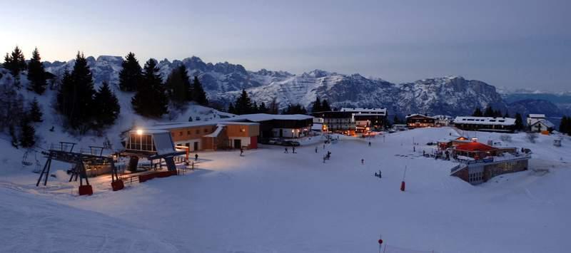 Monte Bondone trasy narciarskie