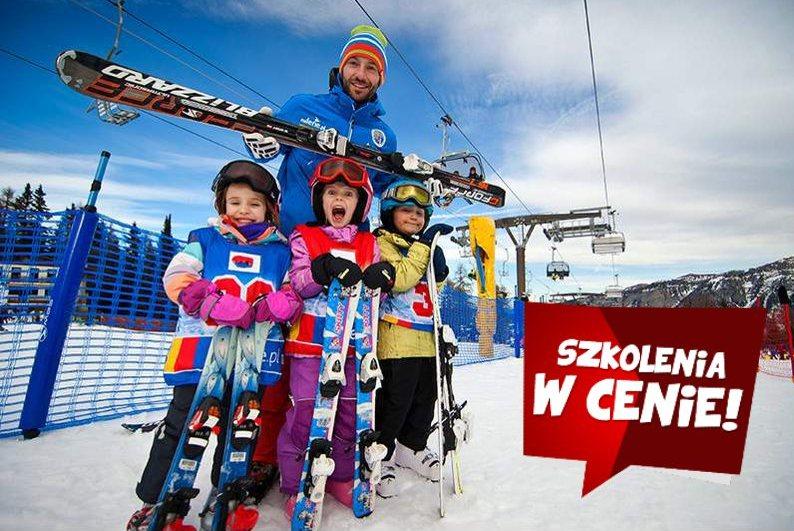 Narty w Polsce ze szkoleniem dla dzieci