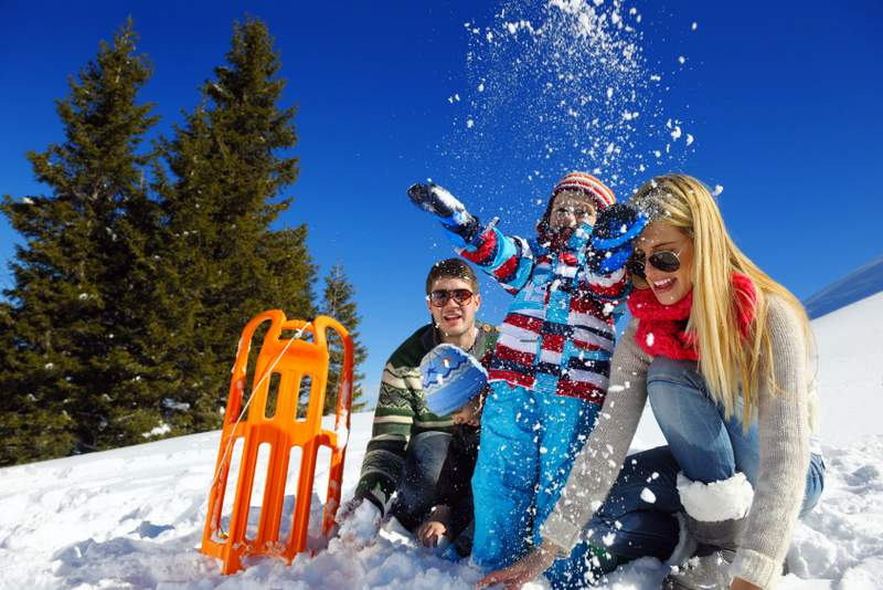 Najlepszy wyjazd na narty z dziećmi
