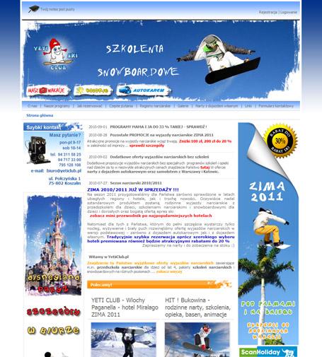 yeti club - sprawdzone wyjazdy na narty z dziećmi