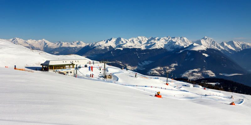 Kronplatz przedszkola narciarskie