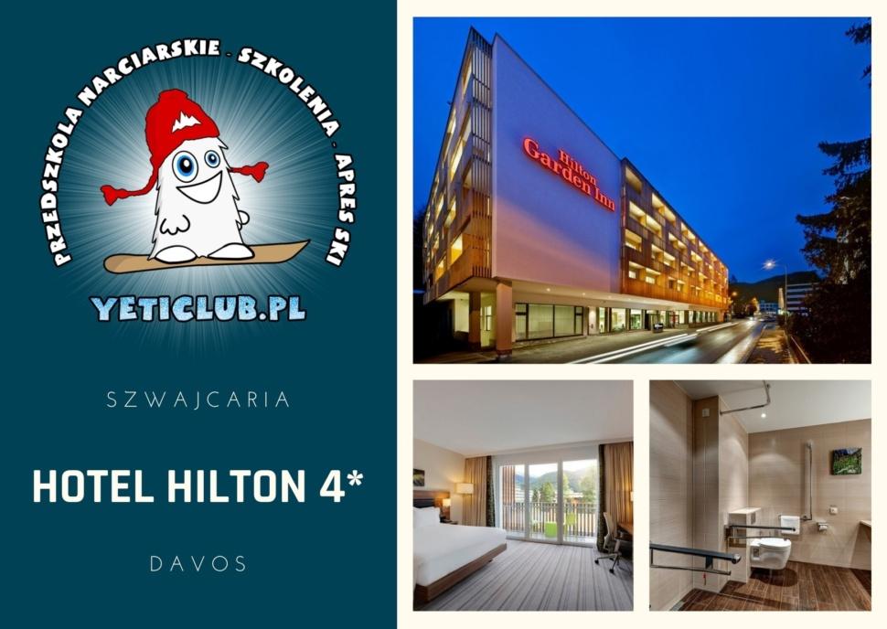 Polskie Szkółki Narciarskie w Szwajcarii - hotel Hilton